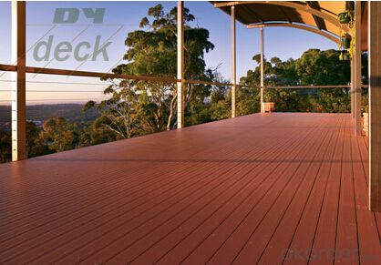 Composite Timber Decking from factory and made in CHINA