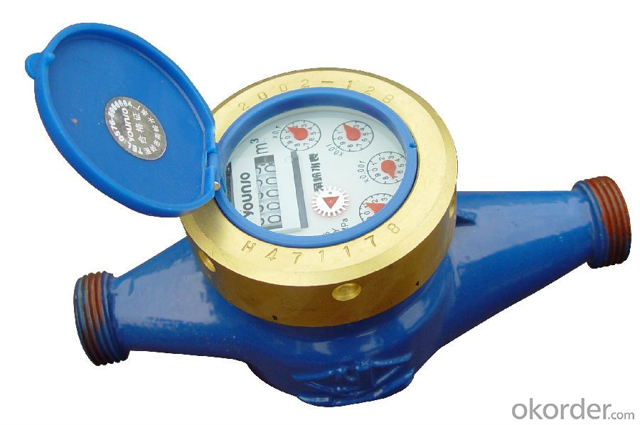 Water Meter IP69 Dry Dial RF Card Prepaid from China