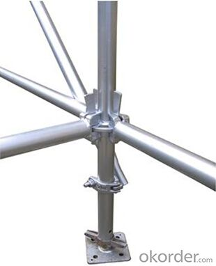 Ring-lock Scaffolding with Hot Deep Galvanized and Cost-effective
