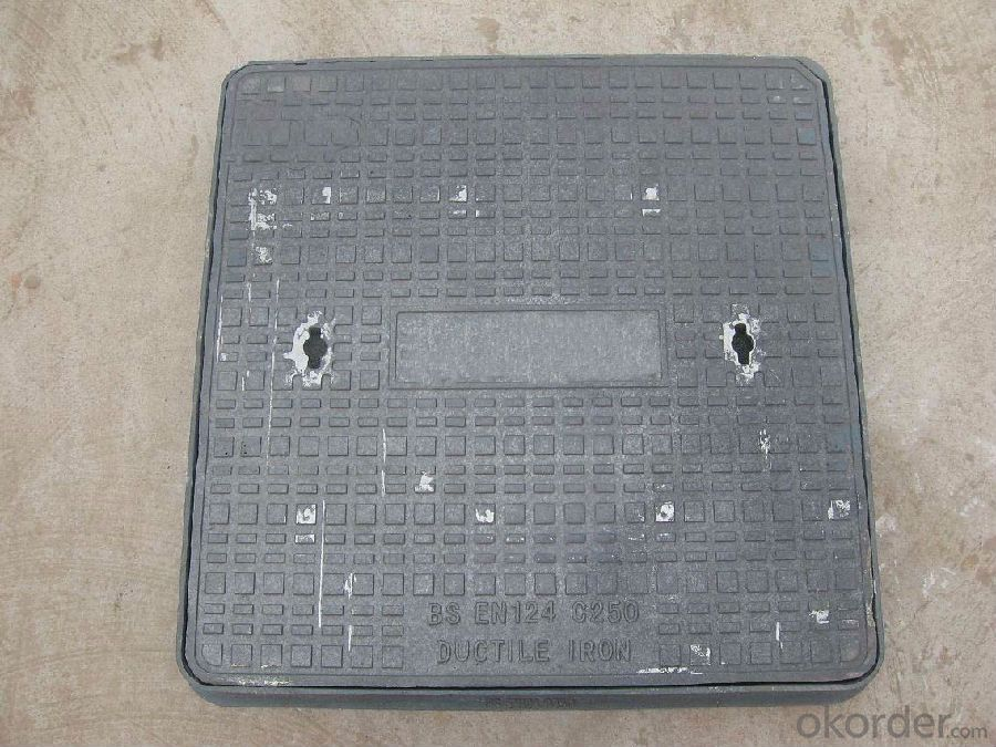 Manhole Cover Manufactured for Construction and Public Use