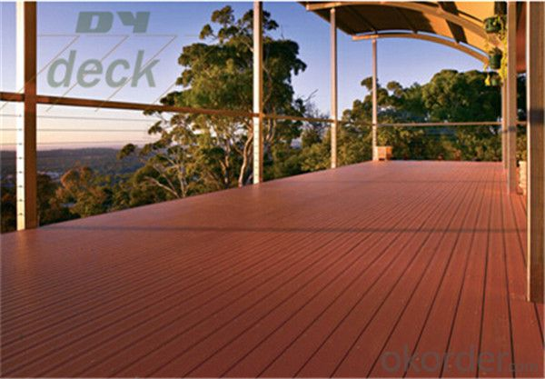 Recycled rubber decking with high quanlity