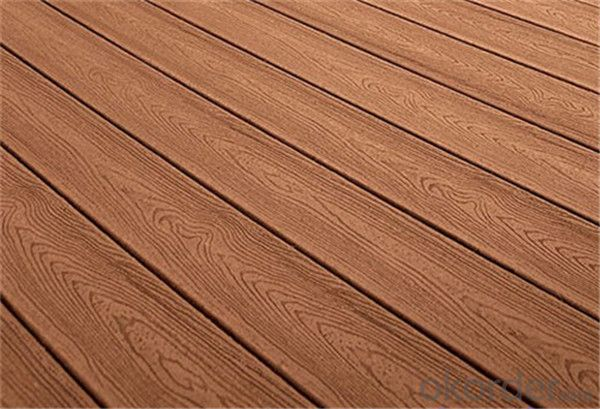 WPC Hollow Deck Tile Hot Sell Beautiful Decking China 2016