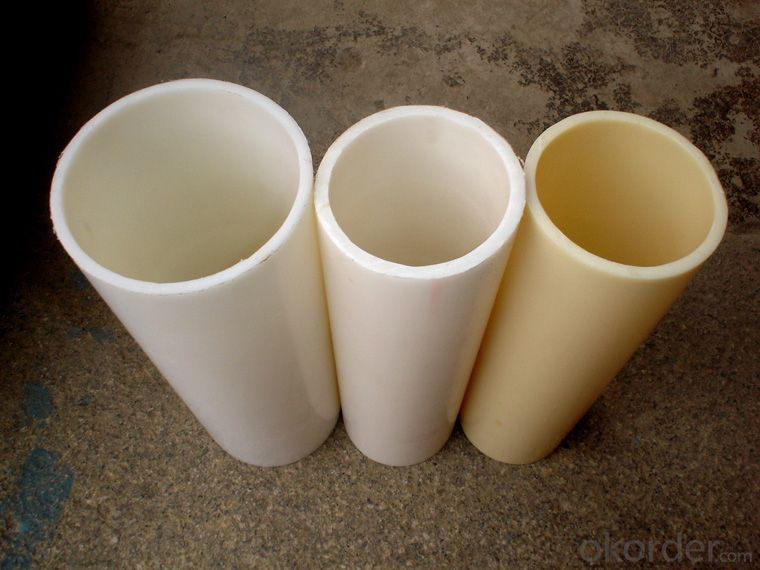 PVC Pipe  16-630mmSpecification: 16-630mm Length: 5.8/11.8M Standard: GB