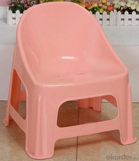 PP Plastic Children Chair, Light and Portable