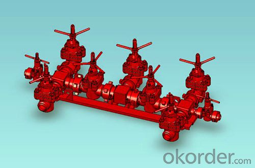 Ground Valve Stack of High Quality with API Standard