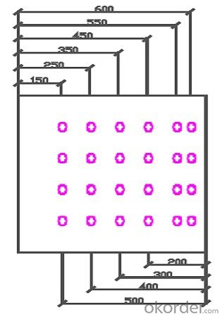 720 * 750 * 70 mm CCOLU 1560 Economical Plastic Formwork for Rectangle / Square Column