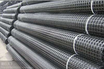 Steel-Plastic composite Geogrid for coal mine