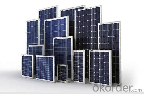 Polycrystalline Solar Panel and  Monocrystalline PV Solar Panel with High Quality CNBM