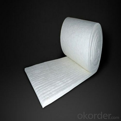 Ceramic Fiber Insulating Blanket Roll 3600*610*50mm, 128 Bulk Density
