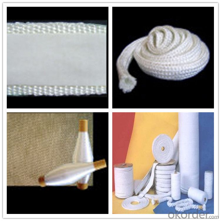 Ceramic Fiber Rope, Tapes,Textiles