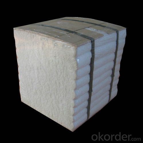 1260℃ High Pure Ceramic Fiber Folded Module
