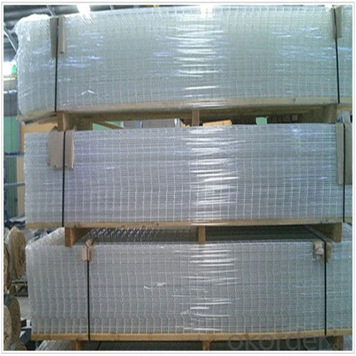 Reinforced Welded Mesh Panel Black Galvanized Construction Materials with High Quality