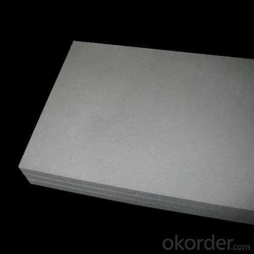 1260 STD Ceramic Fiber Board with 300 kg/m3 Bulk Density