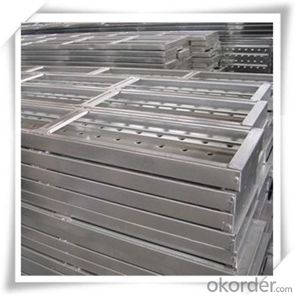 ​Hot Dip Galvanized Steel Plank Metal Planks 210*45*1.5*4000 CNBM