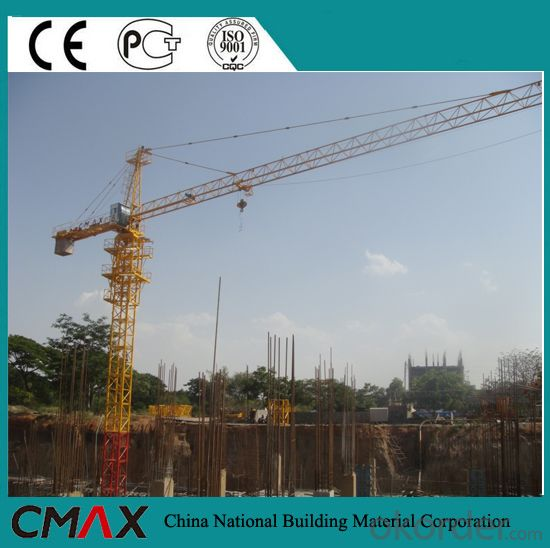 12T Self-Erecting Tower Crane with CE ISO Certificate