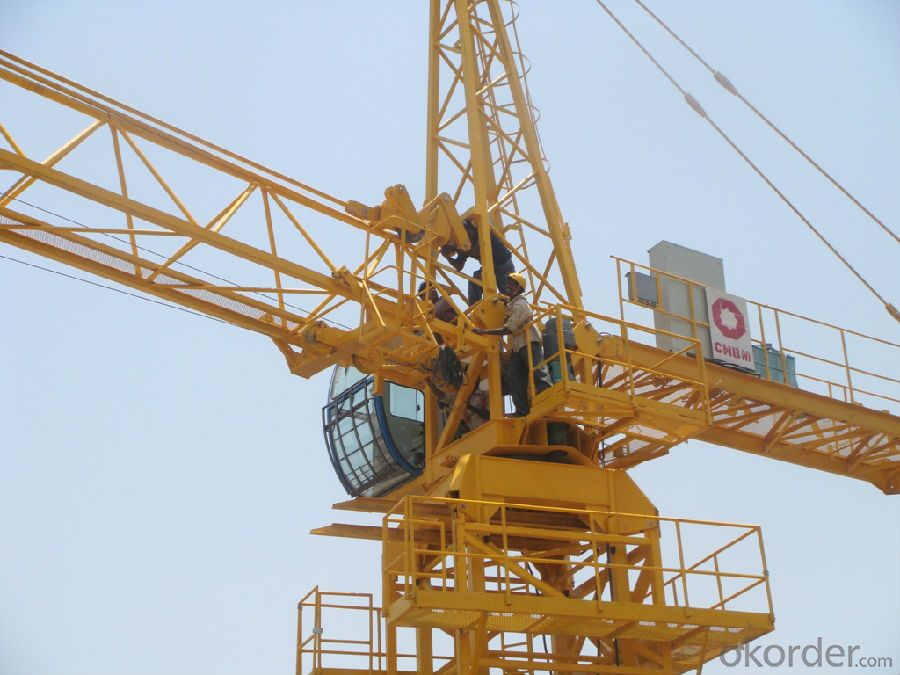 Tower Crane 4 Tons to 10 Tons Building Construction Machinery and Equipment
