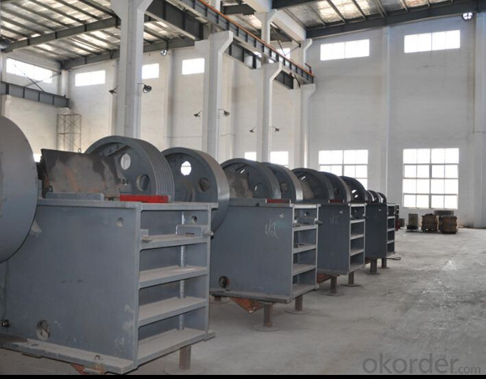 Jaw Crusher for Construction Aggregates with ISO Certificate for Granite
