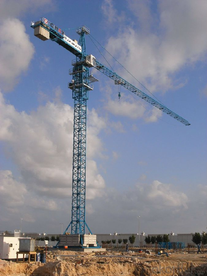 TC5013B 6T Tower Crane Seller with CE ISO Certificate