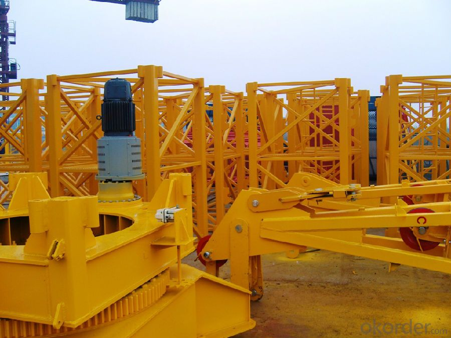 6T Construction Machinery Tower Crane Price with Specification