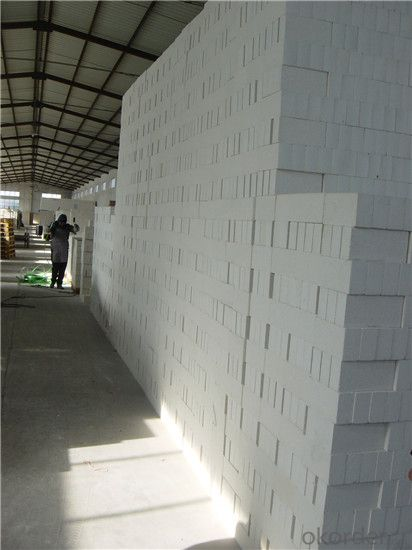 Refractory White Brick Fire Brick Fused Azs Brickinsulating Fire Brick