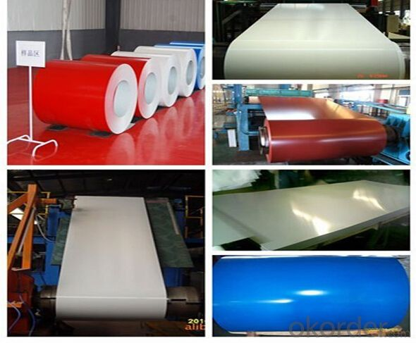 Prepainted Galvalnized Steel Coils for Corrugated Roof