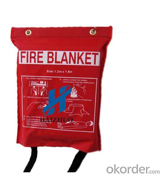 Fire Blanket Packaged in Bags for Promotion