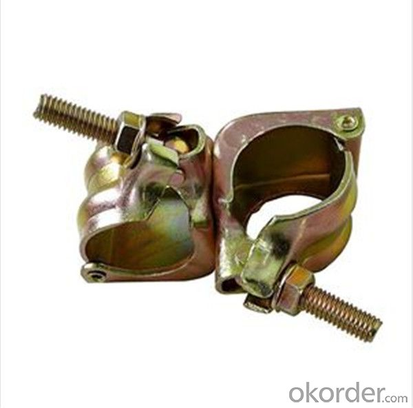 90º Pressed Double Coupler  for Scaffolding Q235 Q345 CNBM