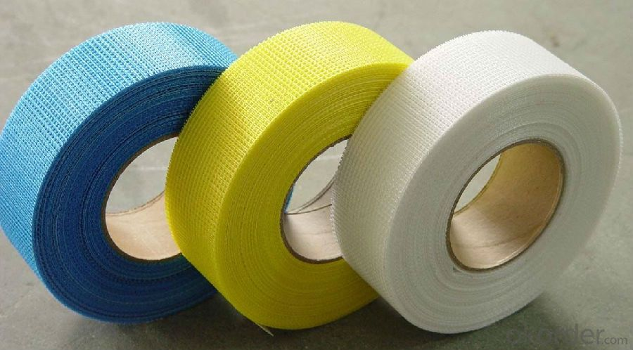 Fiberglass Self-adhesive Mesh Tape with Different Colors Coated