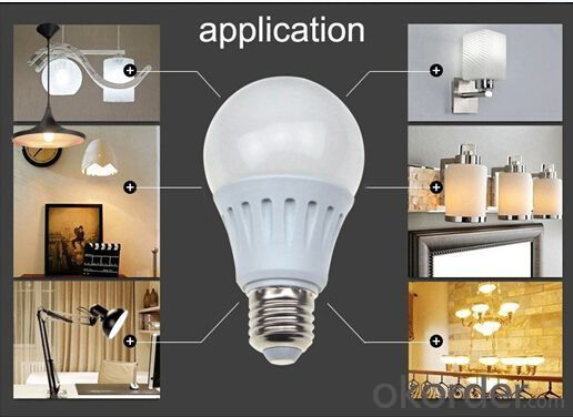 LED BULB  LIGHT A60 E27 SMD5630 10W CRI80