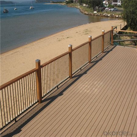 Wpc Wood Plastic Composite Decking Floor