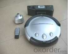 Robot Vacuum Cleaner with LED Indicator and Remote Control CNRB005