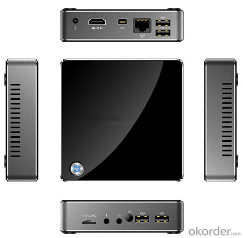 Mini PC Z3735F 2GB DDR3 32GB eMMC HDMI VGA LAN WiFi Bluetooth Genuine Windows 8.1