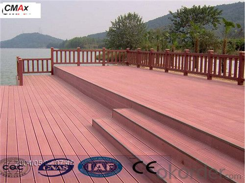 CE Certificated Hollow Composite Decking