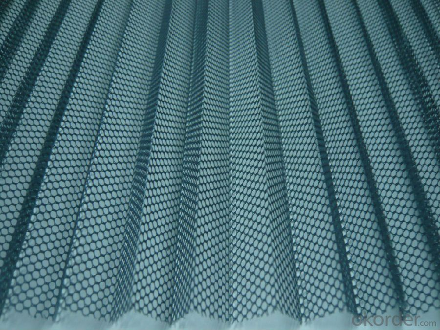 Polyester Insect Pleated Screen Mesh in Low MOQ