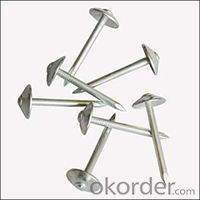 Hot Selling Roofing Nails Polished Common Nails Roofing Nails Flat Head Nails