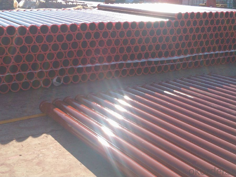CONCRETE DELIVERY PIPE ST 52 WITH 148 FLANGE
