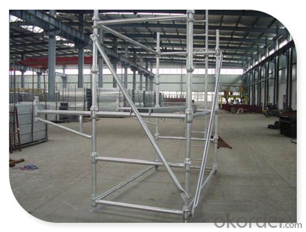 Iron Cuplock Scaffolding System with Factory Price for Sale CNBM