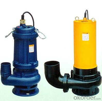WQ Sewage Submersible Water Centrifugal Pumps