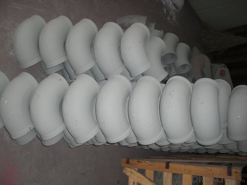 Concrete Pump Elbow R275, DN125MM Grey  with High Quality