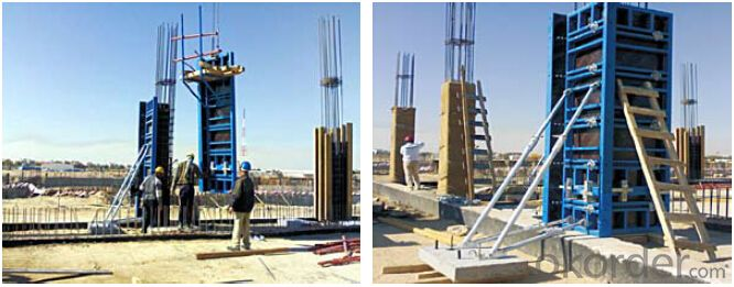 Steel Frame Formwork GK120 with Long Time Using for Large Projects