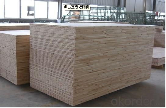 Sapele Face and Back Block Board for Furniture and Decoration use