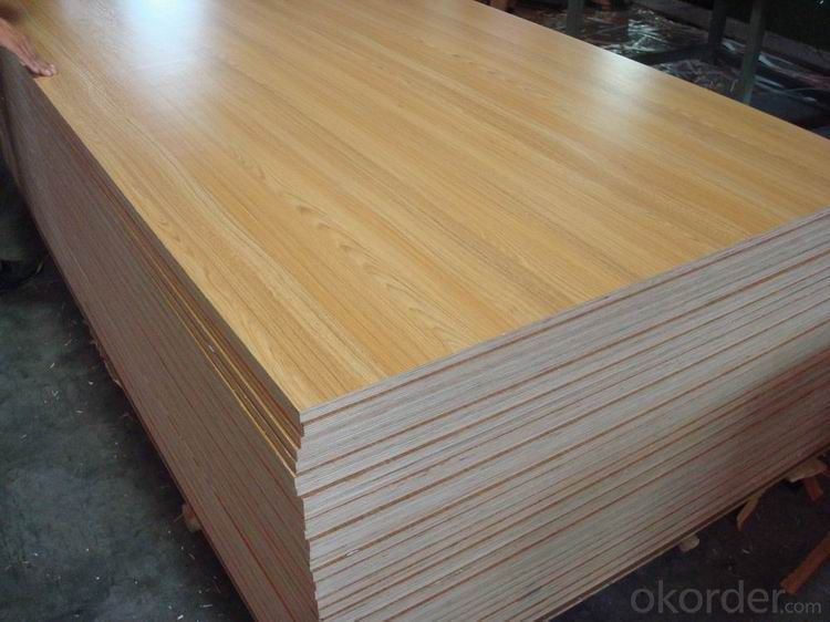 Melamine Faced Plywood Furniture and Decoration use