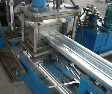 Plank Steel Profiles Cold Roll Forming Machine