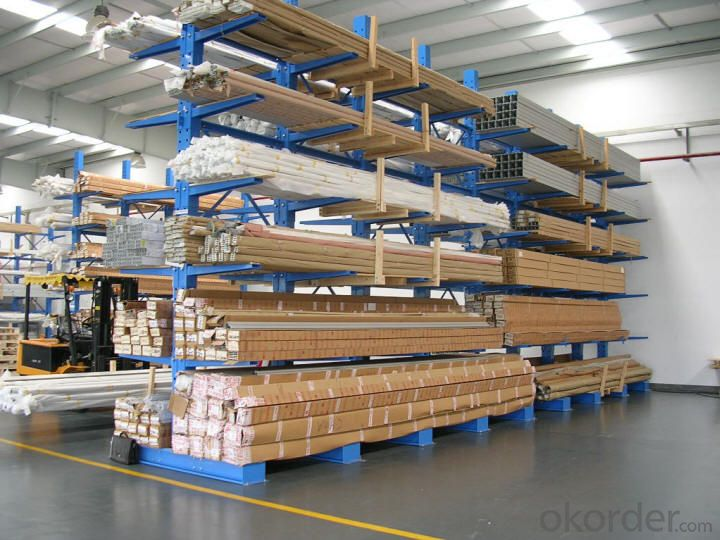 Cantilever Type Pallet Racking Shelving Systems