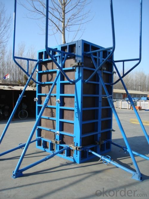 Steel Frame Formwork GK120 with Durable Performance for High-rise Buildings
