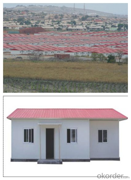 Prefabricated House/Floor 60mm EPS Sandwich Panel House