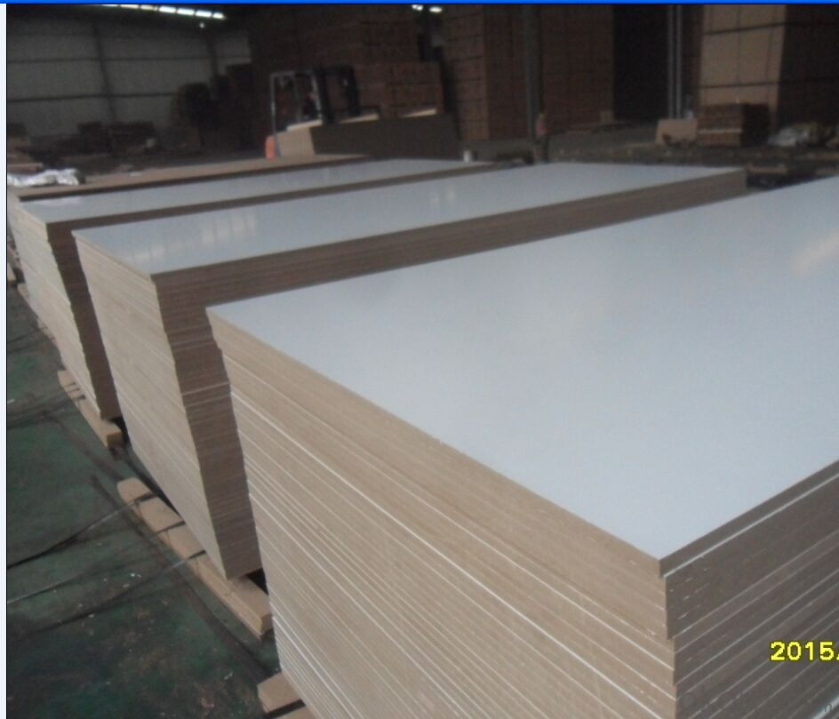 Satin Surface Finish Melamine MDF Boards