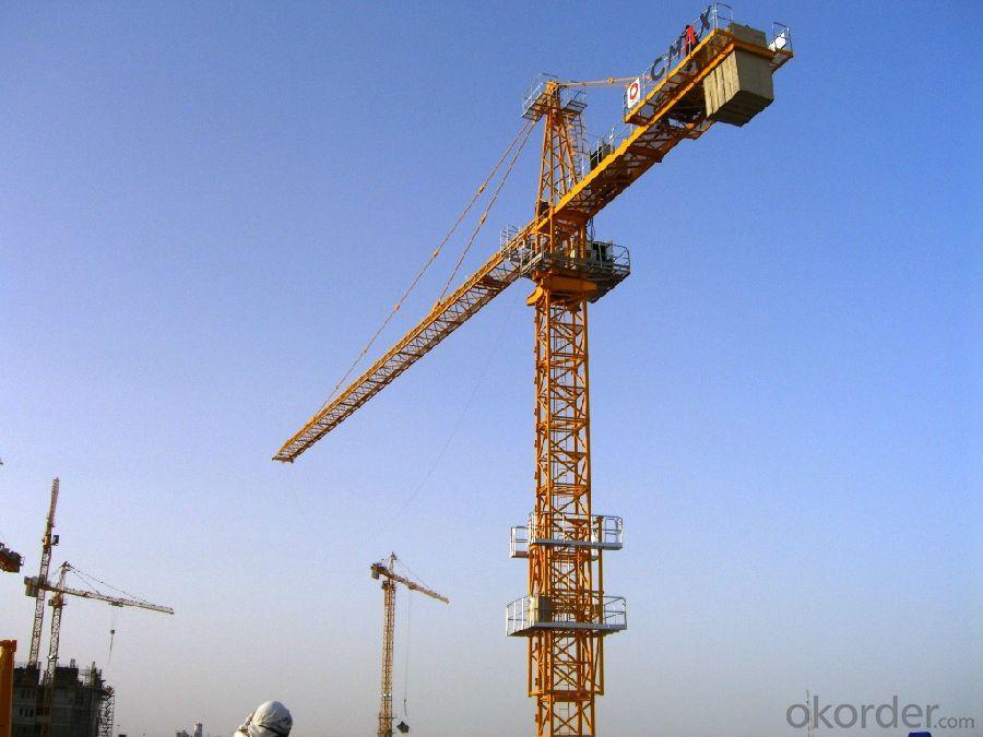 12T Loading Capacity Tower Crane TC7034-F-52.4