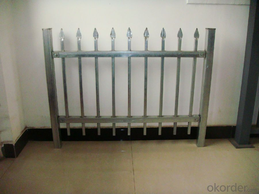 Top Sale  Hot Dip Galvanized Palisade Fence