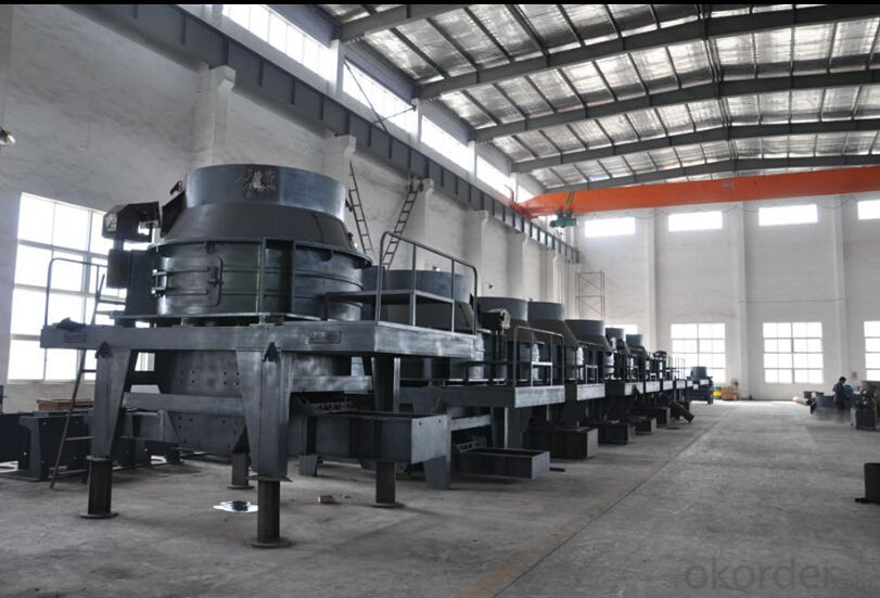 0-4.75mm Dry Sand Making System without any Powder in Site